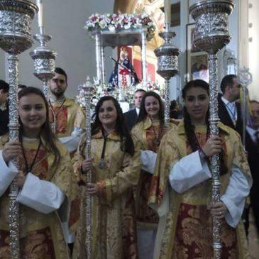 Representación en la procesión de la Virgen de la Cabeza Jaén
