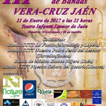 III Certamen Benéfico de Bandas Vera-Cruz Jaén