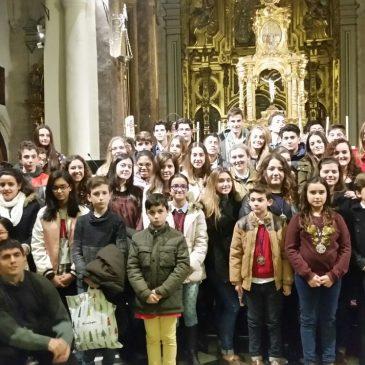 Misa en honor San Juan Evangelista por Grupo Joven Vera-Cruz Jaén