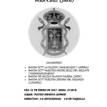Reserva de entradas para el III Certamen Benéfico de Bandas