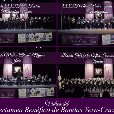 Videos III Certamen Benéfico de Bandas Vera-Cruz Jaén