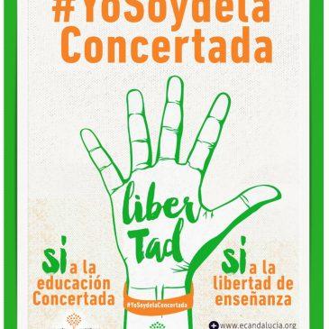 Campaña a favor de los colegios concertados #yosoydelaconcertada