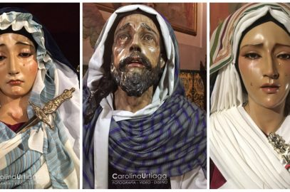 Las imágenes de la Vera-Cruz se visten de Hebreas