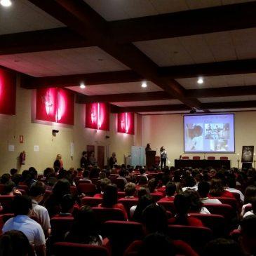 Charla a los alumnos del Colegio Monseñor Miguel Castillejo.