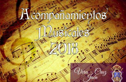 Acompañamientos Musicales para desfiles procesionales para 2018