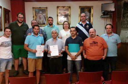 Firma de contrato con BCTT Nuestra Señora de la Salud de Córdoba
