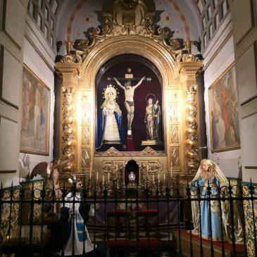 Imágenes ataviadas para el Dogma Inmaculada Concepción.