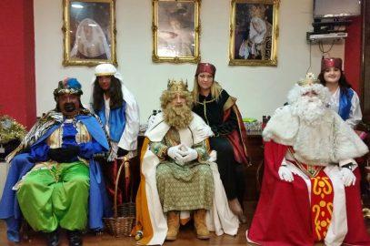 Los Reyes Magos Visitan la Vera Cruz