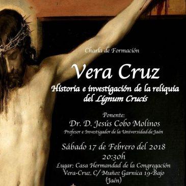 Charla sobre la Historia e Investigación de la Reliquia del Lignum Crucis