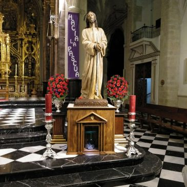 Misa, via crucis y besapie de Jesús Preso.