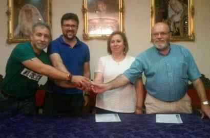 Firma contrato con la Sociedad Filarmónica de Jaén