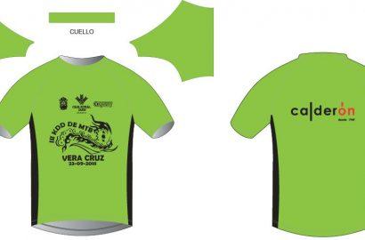 Camiseta y Dorsal para la III KDD MTB VERA CRUZ